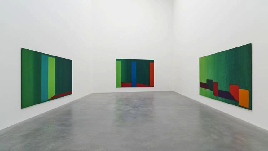 Gallery view. Photo: The John Hoyland Estate
