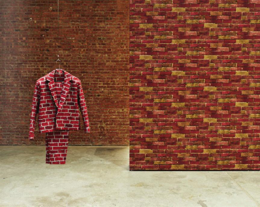 Anthea Hamilton, Brick Suit (2010)