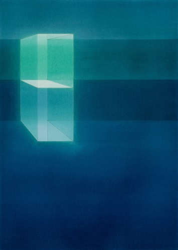 Lauretta Vinciarelli | Suspended in blue (study 3), 2007