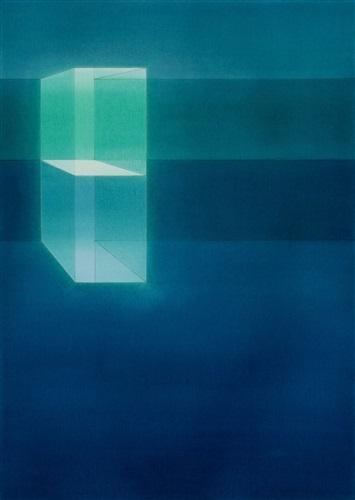 Lauretta Vinciarelli | Suspended in blue (study 3), 2007