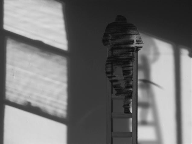 Hiraki Sawa, Man in Camera (video still), 2015-16, Single channel video, drawings, mixed media, installation, Duration 8' 50'' Photograph © Hiraki Sawa and Parafin, London